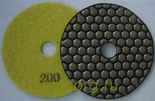 Шлифовальный диск черепашка для плитки